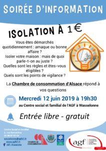 Soirée d'information – Isolation à 1€