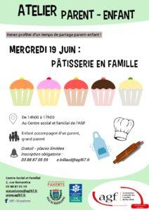 Atelier parent-enfant : pâtisserie en famille