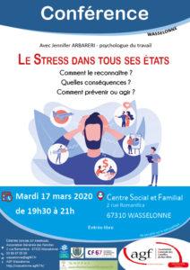 CONFÉRENCE : Le stress dans tous ses états