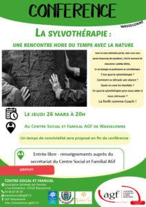 CONFÉRENCE : La sylvothérapie – une rencontre hors du temps avec la nature