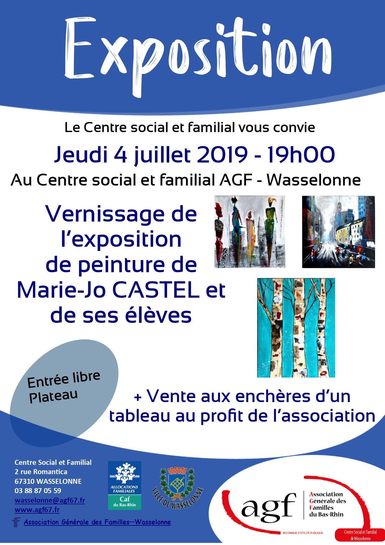 Exposition vernissage